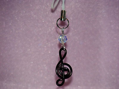 Today's featured music gifts: Phone Charms