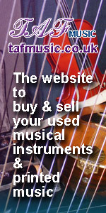 TAF Music - the website to buy and sell used music instruments and printed music